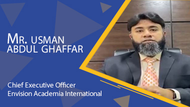 Mr Usman Abdul Ghaffar – Envision Academia International School In Karachi - Taleemi Hub